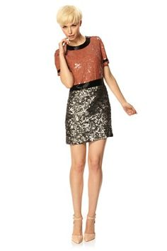 SHELLY SEQUINS DRESS - Dresses - French Connection Canada