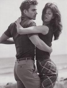 Mexican Models Blog: Archives: Elsa Benitez for Dolce & Gabbana Autumn/Winter 1996
