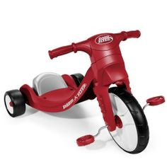 Traction Tread On Front Wheel To Hug The Road - Radio Flyer My First Big Flyer Red by Radio Flyer. $67.99. Radio Flyer My First Big Flyer RedRadio Flyer My First Big Flyer RedMy First Big FlyerTMoffers fun, fast riding at a great price! The trike's oversized front wheel features Traction TreadTM to hug the road and allow your child to take off without slipping or spinning out. This sturdy plastic trike also has a comfortable, low-back seat that is adjustable to grow with...
