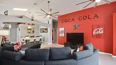 Welcome to The Coca Cola Villa, 3 miles from Disney World, private pool/spa - Four Corners Coca Cola, Places To Rent, Inspire Me Home Decor, Luxury Holidays, Orlando Florida, Luxury Villa, Luxury Homes, Interior Design, Design Interiors