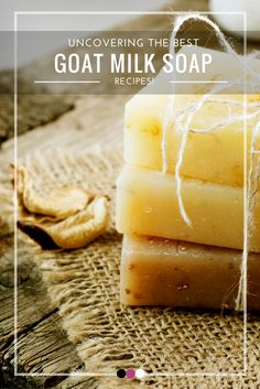 We've revealed the best goat milk soap recipes right here!
