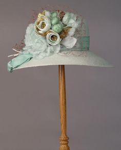 This would be my derby hat...alas, I will never have a derby hat