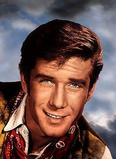 Robert Fuller stop being a cute little hottie! Laramie Tv Series, Robert Fuller Actor, James Drury, Robin Roberts, Best Hero, The Virginian, Tv Westerns, John Smith, Old Tv Shows