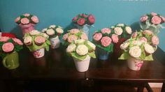 Cupcake bouquets for mother's day 2015!