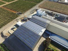 Kilikanoon winery, Clare Valley, Mid North South Australia.  About 470 solar panels, probably 100kW+.  Drone Photo by David Clarke #SouthAustralia   #KilikanoonWinery #ClareValley #SolarPanels #Solar