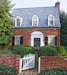 small brick house - Google Search