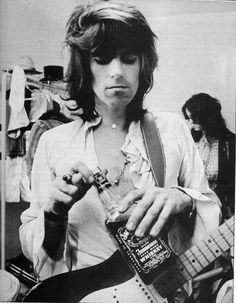 """Why would you want to be anything else if you're Mick Jagger?"" — Keith Richards, c. Keith Richards, Rock N Roll, Rock And Roll Bands, Mick Jagger, Los Rolling Stones, Rollin Stones, Ron Woods, Charlie Watts, New Wave"