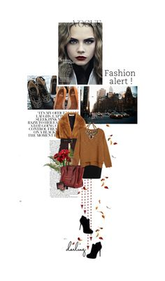 """brown and burgundy"" by summerbreeze85 ❤ liked on Polyvore"