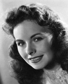 Jeanne Crain, superb actress who starred in many film dramas