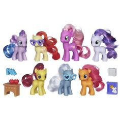 My Little Pony Cutie Mark Crusaders and Friends Collection My Little Pony http://www.amazon.com/dp/B00CM5D8AA/ref=cm_sw_r_pi_dp_ZKi2tb03MPAG8NMQ