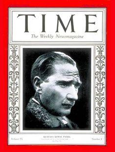 TIME Magazine Cover: Mustafa Kemal Pasha - Feb. 21, 1927 - Ataturk - Mustafa Kemal Pasha - World War I - Turkey - Military