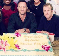 Alex and Scott | The Talk | Hawaii Five-0 | 100th episode