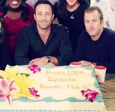 Alex and Scott | The Talk | Hawaii Five-0 | 100th episode