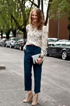 A CUP OF JO: Cutest street style