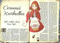 Červená Karkulka Fairy Tales, Diy And Crafts, Disney Characters, Fictional Characters, Disney Princess, Art, Carnival, Art Background, Fairytale