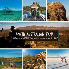 "Where's your favourite travel spot in #SouthAustralia? Head over to the ""Experience Oz"" Facebook page and let us know! The best comment will win a $20 gift voucher. #experienceoz #travel #Australia"