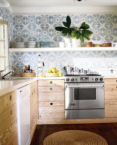 A pretty tile backsplash | domino.com