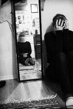 Catoptrophobia- Fear of mirrors.