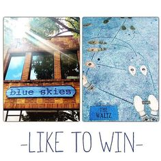 Enter to win some blue skies of your own! Like this post on FB or IG