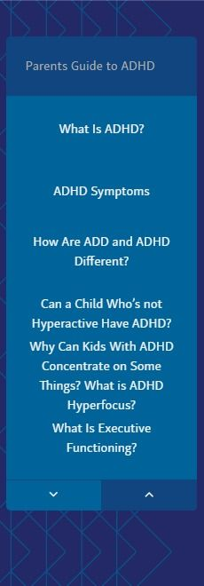 Parents Guide to ADHD in Children | Also as a PDF download - Child Mind Institute