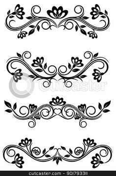 Stock vector of 'Antique vintage frames isolated on white for design' Vintage Frames, Clip Art Vintage, Royal Icing Templates, Cake Templates, Piping Templates, Design Templates, Royal Icing Piping, Cake Piping, Cake Decorating Techniques
