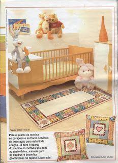 cris-pontinhosmeus: Gráfico tapete de arraiolos infantil