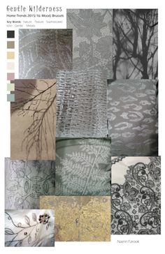 Gentle-Wilderness. Home trend, but i plan to be wearing these beautiful textured, muted neutrals this year, and i prefer these haunting graphics to fashion overkill. Call it upscale, artsy normcore.