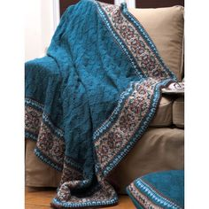Free Easy Afghan Knit Pattern