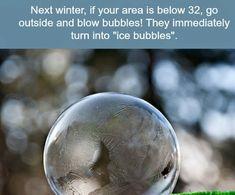 Bubble winter fun