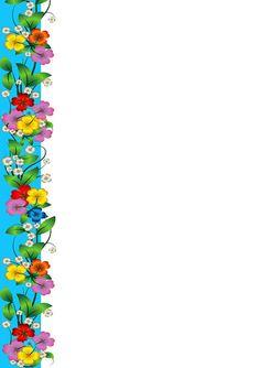View album on Yandex. Frame Border Design, Boarder Designs, Page Borders Design, Boarders And Frames, Paper Flowers Craft, Borders For Paper, School Decorations, Paper Frames, Floral Border