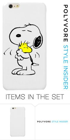 """Snoopy phone case"" by soccergracek ❤ liked on Polyvore featuring art, contestentry and PVStyleInsiderContest"