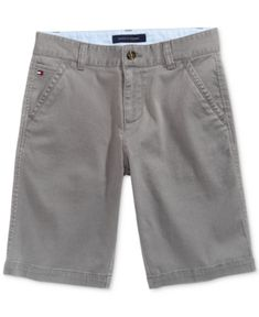 Tommy Hilfiger Husky Dagger Shorts, Big Boys (8-20)  - Gray 12