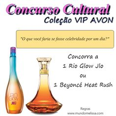 Mundo Melissa: Concurso Cultural - Coleção VIP Avon