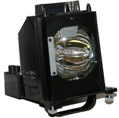 Mitsubishi WD73740 TV Cage Assembly with Original Bulb Inside