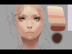 How to Paint Skin Realistically-Remastered - YouTube