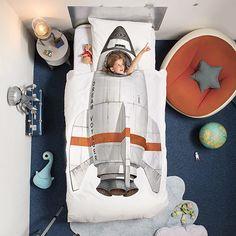 Rocket Duvet & Pillowcase Set