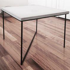 Mobiliario de concreto, objetivo de experimentar con el concreto sin el objetivo como tal de hacer mobiliario.