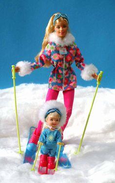 Barbieworld - Sport > Skiën > 15. Barbie op de ski's in 2000