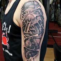 Mechanical Arm Tattoo Related Keywords & Suggestions - Mechanical Arm ...