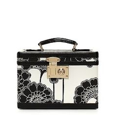 This is the most gorgeous train case in the world.