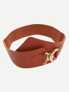 Cinturón hebilla entrelazada-(Sheinside)