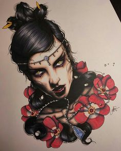 Face Tattoos, Body Art Tattoos, Girl Tattoos, Great Tattoos, Small Tattoos, Neo Tattoo, Geisha Art, Japanese Tattoo Art, Biblical Art