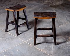 """River Arts District """"RAD"""" stool at counter height"""