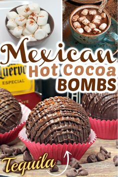 Mexican Hot Chocolate, Chocolate Bomb, Hot Chocolate Gifts, Christmas Hot Chocolate, Chocolate Spoons, Homemade Hot Chocolate, Hot Chocolate Bars, Hot Chocolate Recipes, Melting Chocolate