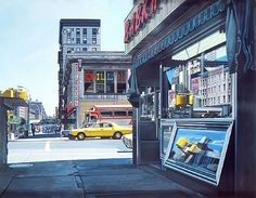 Billiards 1976 by Richard Estes