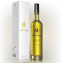 Fortune - Organic Extra Virgin Oil by Patrícia Bernardo, via Behance