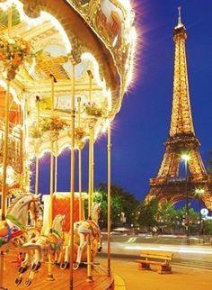 Carousel Paris (1000 parça puzzle)