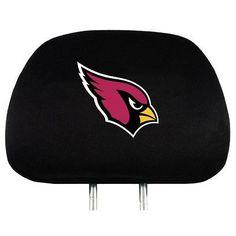 Head Rest Cover - Arizona Cardinals