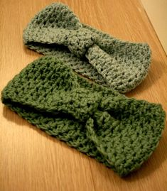 New ideas crochet headband pattern free head wraps simple Crochet Bows, Love Crochet, Crochet Gifts, Diy Crochet, Crochet Scarves, Crochet Clothes, Crocheted Hats, Easy Crochet Headbands, Simple Crochet