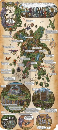 Dungeons & Dragons Roleplaying Game Official Home Page - Article (Isle of Dread)
